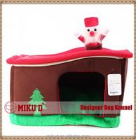 Christmas Best Quality Wholesale Luxury Christmas Tree Pet Dog House, Dog Kennel, Pet Dog Bed