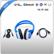 2015 wireless bluetooth headphone supporting TFcard headphone wholesale