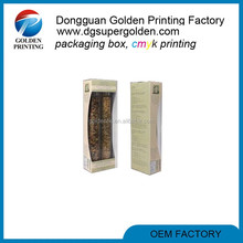 Popular design high quality packaging window box packaging