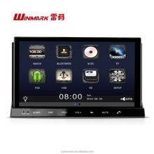 "Best-selling 7"" 2 din HD TFT LCD capacitive screen car dvd radio audio ipod DM7835C with android OS, 3G,WIFI,, etc.for all cars"