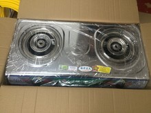 factory price gas stove double burner for cooking in biogas