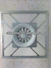 2013 new 600x600 led panel ceiling fans with led lights 38w