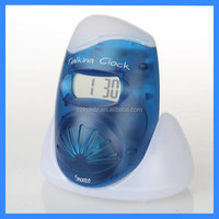 LCD talking alarm Clock,volume Control clock,clock with night light
