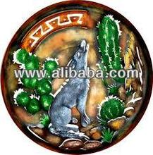 Mexican metal wall art, Mexican metal crafts