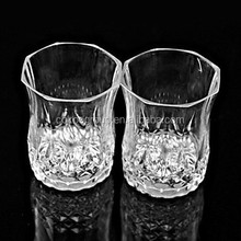 Party pub home flashing cola water cup drinking glasses led plastic glow tableware dinnerware