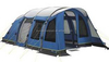 Large inflatable tent family camping tent with inflator