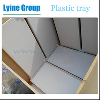 wholesale 90cm length hydroponic system seedling germination plastic tray