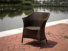 Ursula Best Seller Living Room Rattan Chair Anti-skidding Outdoor Armchair Dining Set