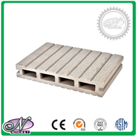 Waterproof all kinds of colors wpc trailer decking