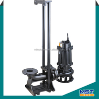 Low head high discharge submersible water pump