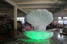 Fantasy stage/wedding performance inflatable seashell