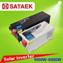 SATAEK Solar Inverter DC to AC 6000W 5000W 4000W 3000W 2000W 1500W 1000W 12V/24V/48V solar inverter ups