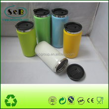 double wall stainless steel water bottle,stainless steel sublimation travel mug , metal can