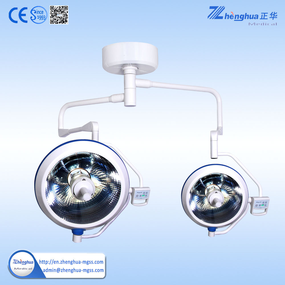 double ceiling shadowless type lamp