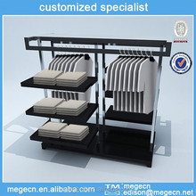 Luxurious Double-Sided Clothes Display/Clothes Display Stand