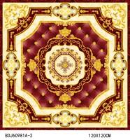 Glazed crystal tile porcelin glitter floor tiles1200x1200mm