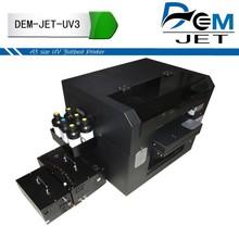DEM JET Digital Inject UV Printer, Digital LED UV printer A3 Size