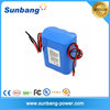 Certificated 18650 4400mah 12v electric tricycle battery