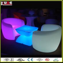 portable plastic light furniture with wireless design