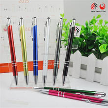 Chinese most popular cheap metal blue pen