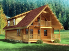 hot sell log cabin house