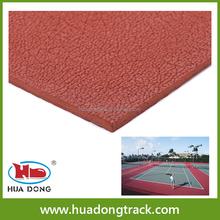 Outdoor rubber floor mats, basketball courts rubber sport flooring