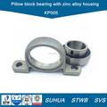 Carcasa de aleación de Zinc pillow block bearing KP005