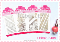 """2015 hot selling Tiebeauty polish fashion personality multiple choice DIY nail art stricker for wholesale """""""