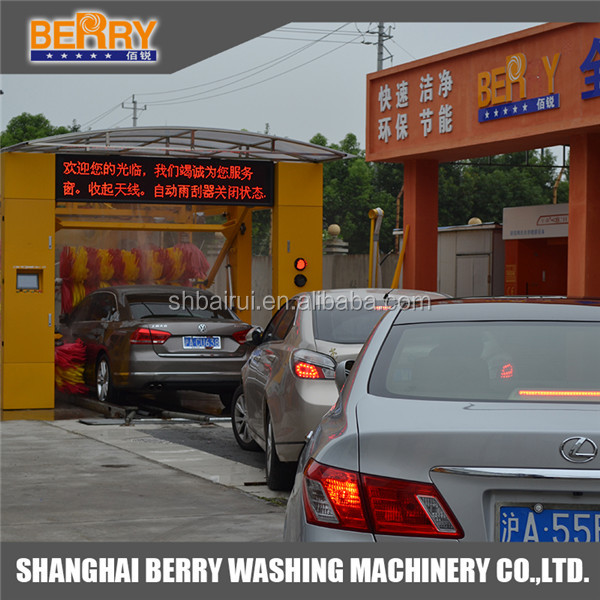 Tunnel car wash machine with factory price buy tunnel car wash
