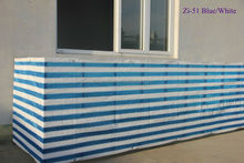 HDPE balcony decorating color stripe shanghai