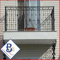 Cool Wrought Iron Fence Balcony