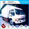 12tons van box truck,commercial truck and vans,box truck with sleeper cabin of JAC
