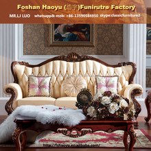 supply fabric turkish sofa furniture,solid wooden living room furniture (DWL81)
