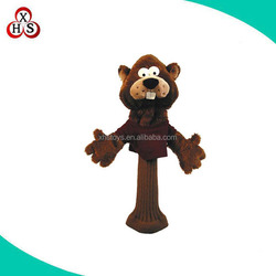 customized animal golf club headcover knitted golf head cover wholesale