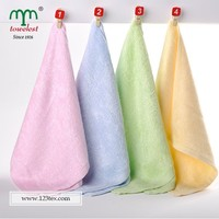 Soft Women and Kids Face Washer 100% Bamboo Fabric Beauty Towels