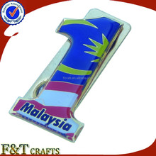 Custom high quality magnet America flag badge/flag pin badge