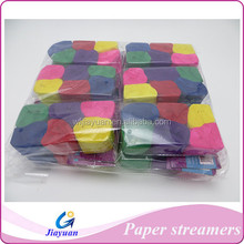 factory wholesale best selling crepe paper streamer/party throw paper colorful streamers
