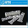 Die Cut Custom Stickers / Vinyl sticker full color uv Printing