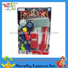 plastic fireman toys,fireman toy set,toy fireman tool,whistle,flashlight,axe,watch,walkie-tal ZH0909138