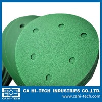 round silicon carbide waterproof holes abrasive paper/sanding disc/sandpaper