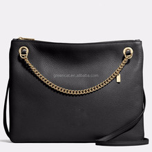 New coming hot sale fashion designer handbag logos genuine leather handbag brands