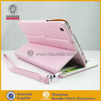 Candy Color Credit Card Leather Case for iPad mini