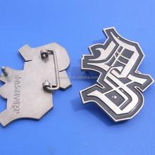 custom metal zinc alloy leather belt buckle