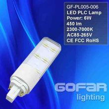 G24 Lamp LED bulb, LED lamp G24, 4W/6W/8W