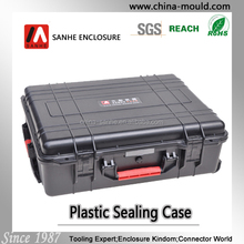 45-24 plastic equipment case with wheel and scalable tie rod