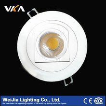 6w~10w Rotatable Led Downlight With High Quality,Tilted Led Downlight,Gimble Led Downlight