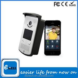 ATZ IP video door bell phone, wifi video doorbell real time talk, door video phone