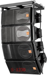 nexo line array GEO1230 with long throw and high SPL,wood box from dbk audio factory