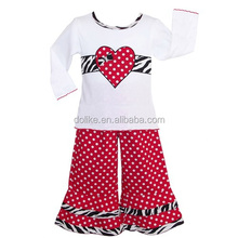 2015 baby toddler clothing wholesale valentine kids clothes branded baby clothing