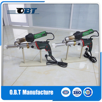 HDPE extrusion welder with METABO motor and LEISTER hot air gun